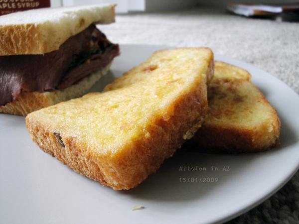 早餐-楓糖法國土司