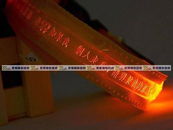 LED寵物發光刻字項圈 尺寸可選~XS/S/M/L(彩色織帶)