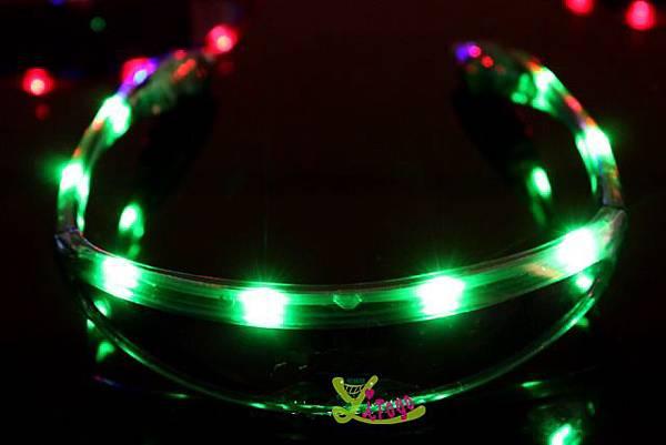 LED 太空眼鏡 太空發光眼鏡 派對眼鏡 LED發光眼鏡 太空人造型