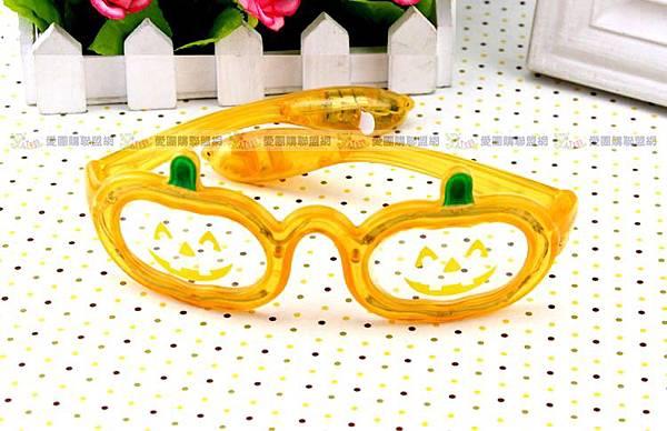 南瓜造型LED發光眼鏡|萬聖節扮裝眼鏡|舞會發光眼鏡|閃光眼鏡