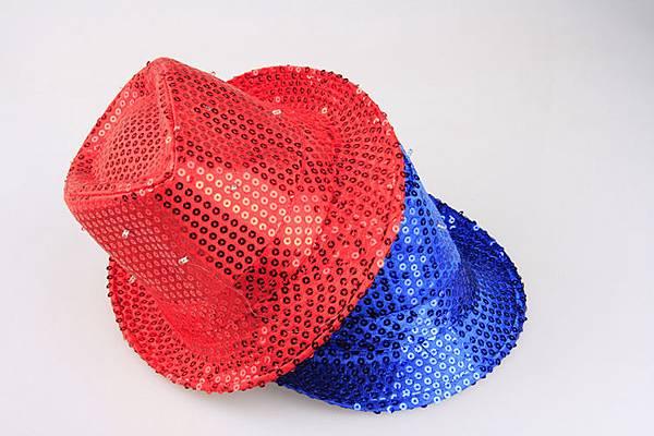 LED發光紳士帽|發光MJ帽|爵士帽|尾牙春酒舞會表演專用