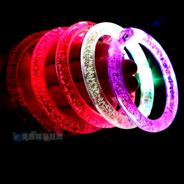 LED壓克力發光手環|發光手鐲|閃光手環 量大可議價