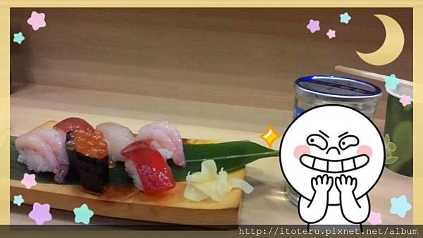 壽司真的很搭新潟的清酒