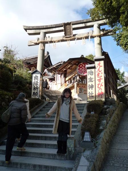 清水寺旁的地主神社