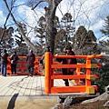 北野天滿宮後面的賞櫻公園