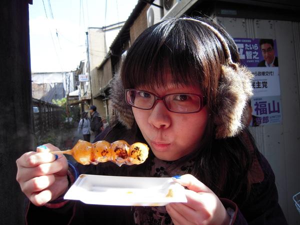 日本人超愛的烤丸子