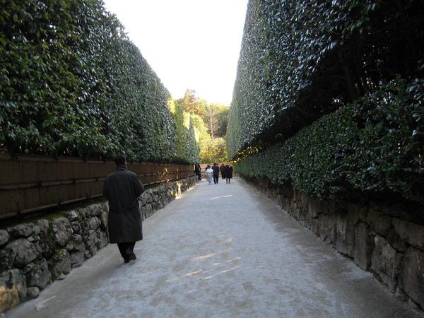 銀閣寺的入口
