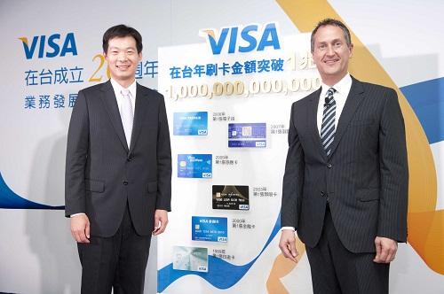 Visa在台成立20週年