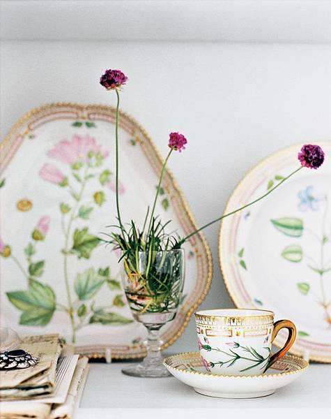 皇家哥本哈根手繪名瓷丹麥之花Flora Danica系列