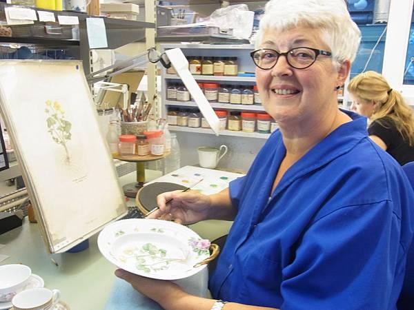 丹麥之花首席暨皇室御用品畫師茱蒂絲.索倫森Judith Sørensen