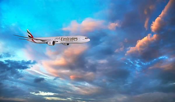 阿聯酋航空台北─杜拜直飛航線使用波音777-300ER機型