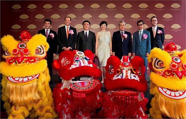 Mandarin Oriental, Taipei 開幕儀式