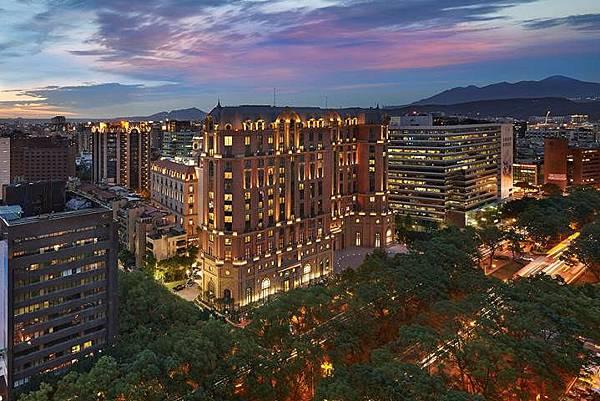 台北文華東方酒店外觀