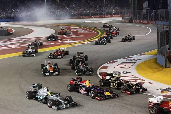 新加坡F1城市夜間賽