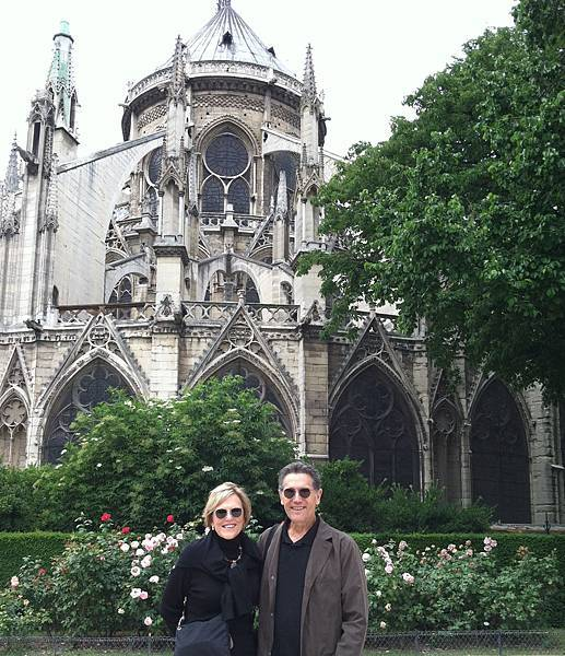 Lynne and Tim at Notre Dame in Paris.jpg