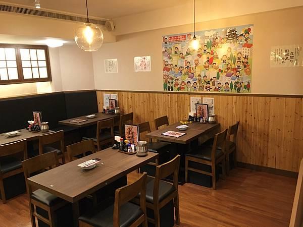 附件十一:規劃近百坪的舒適空間,設有152席座位,濃濃的日式風格有如來到日本名古屋一般(店內B1空間二).JPG