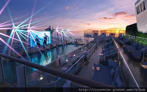 星夢郵輪將全球知名夜店ZOUK CLUB搬上郵輪,讓旅客享受海上狂歡!