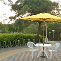 3x3塑膠桌椅_9尺木頭傘(黃).jpg