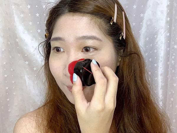 資生堂花椿紅顏刷粉餅妝效好.jpg