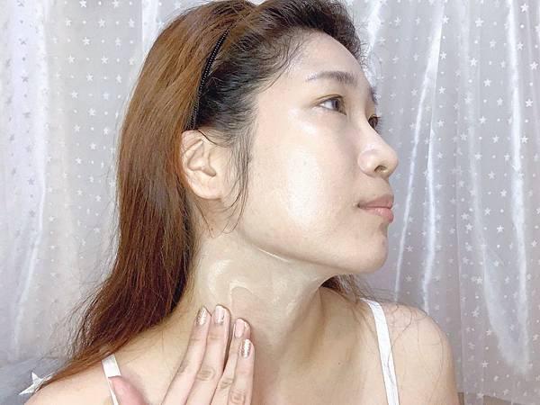 皮醫師Dr.P靚白輕透防曬乳清透潤色型用量.JPG