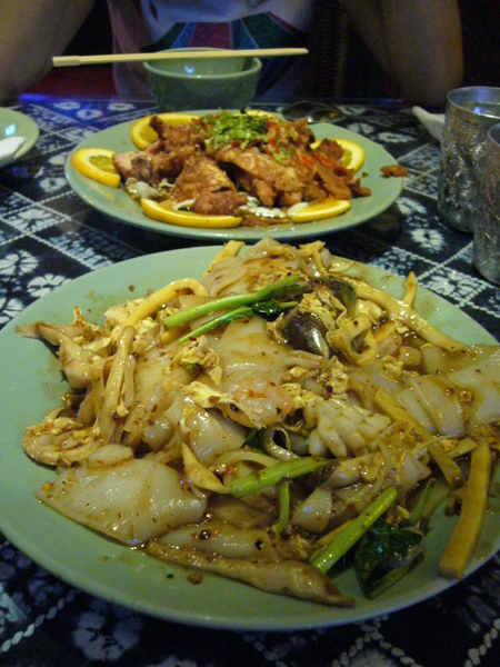 焦麻雞   海鮮炒粿