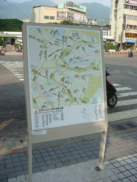 路口的地圖