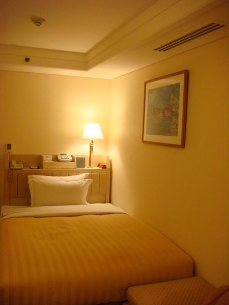 單人房, 溫暖床, 還有兩個枕頭
