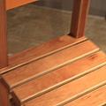 跟展覽一起的咖啡廳的椅子