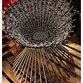 幾何圖案的椅子..實用與藝術的結合