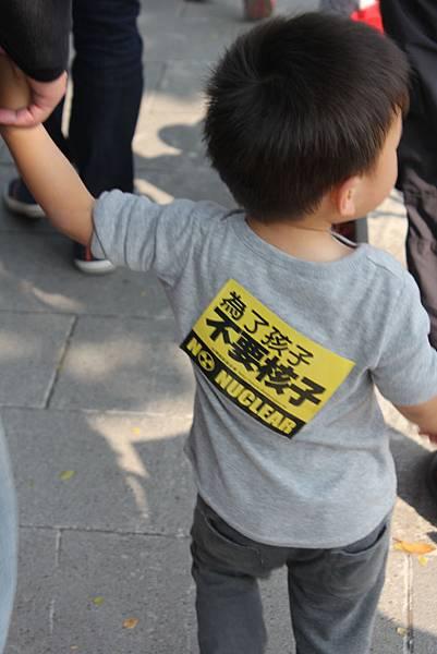 為了孩子不要核子