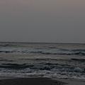去海邊看日出