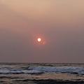 去海邊看日出-太陽