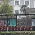 杭州的腳踏車租借站