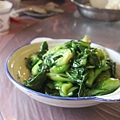 青菜 (可能是青江菜)