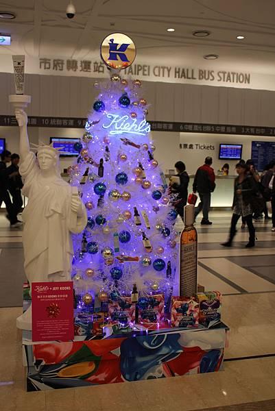 說好要拍聖誕樹 (市政府轉運站)