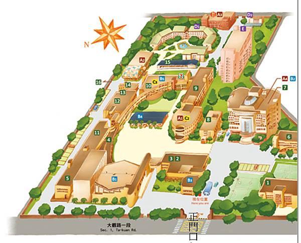 台藝校內地圖.bmp