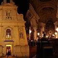 3/7 Stiftskirche 前晚不敢進入的教堂