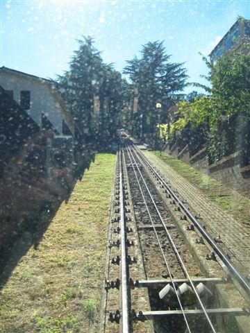 垂直的火車