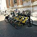 這是一個充滿腳踏車的小城