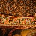 我好喜歡這天花板拱圈花紋