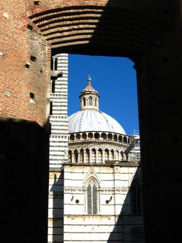 Siena大教堂.竟然在維修