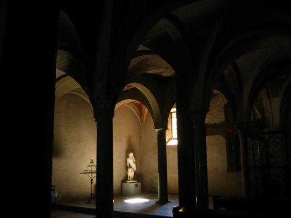 地下的墓室