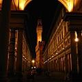 烏菲滋美術館夜景