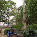 Trinity College 對面的小花園