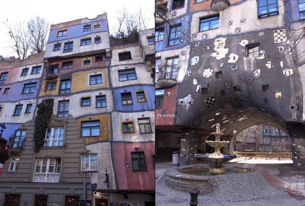 3/8 Hundertwasserhaus 百水公寓內庭