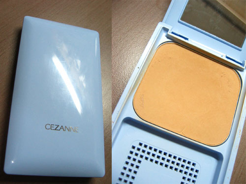 Cezanne藍盒粉餅