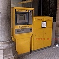 3/3慕尼黑 Marienplatz的郵票販售機
