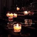 3/4 Salzburg Dom 主教教堂內的燭燈
