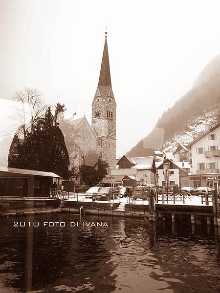 從湖上望塔   有沒有像明信片