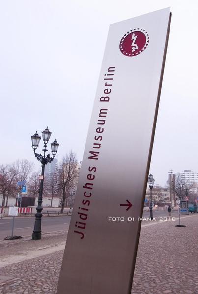 3/11 迷路一陣子終於抵達Judisches Museum